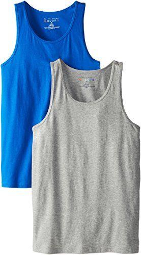 Tommy Hilfiger Men's 2-Pack Tank Top, Gray Solid/Blue Solid, Large Tommy Hilfiger http://www.amazon.com/dp/B00HWOBLZ0/ref=cm_sw_r_pi_dp_Qeabub04CWT1Y