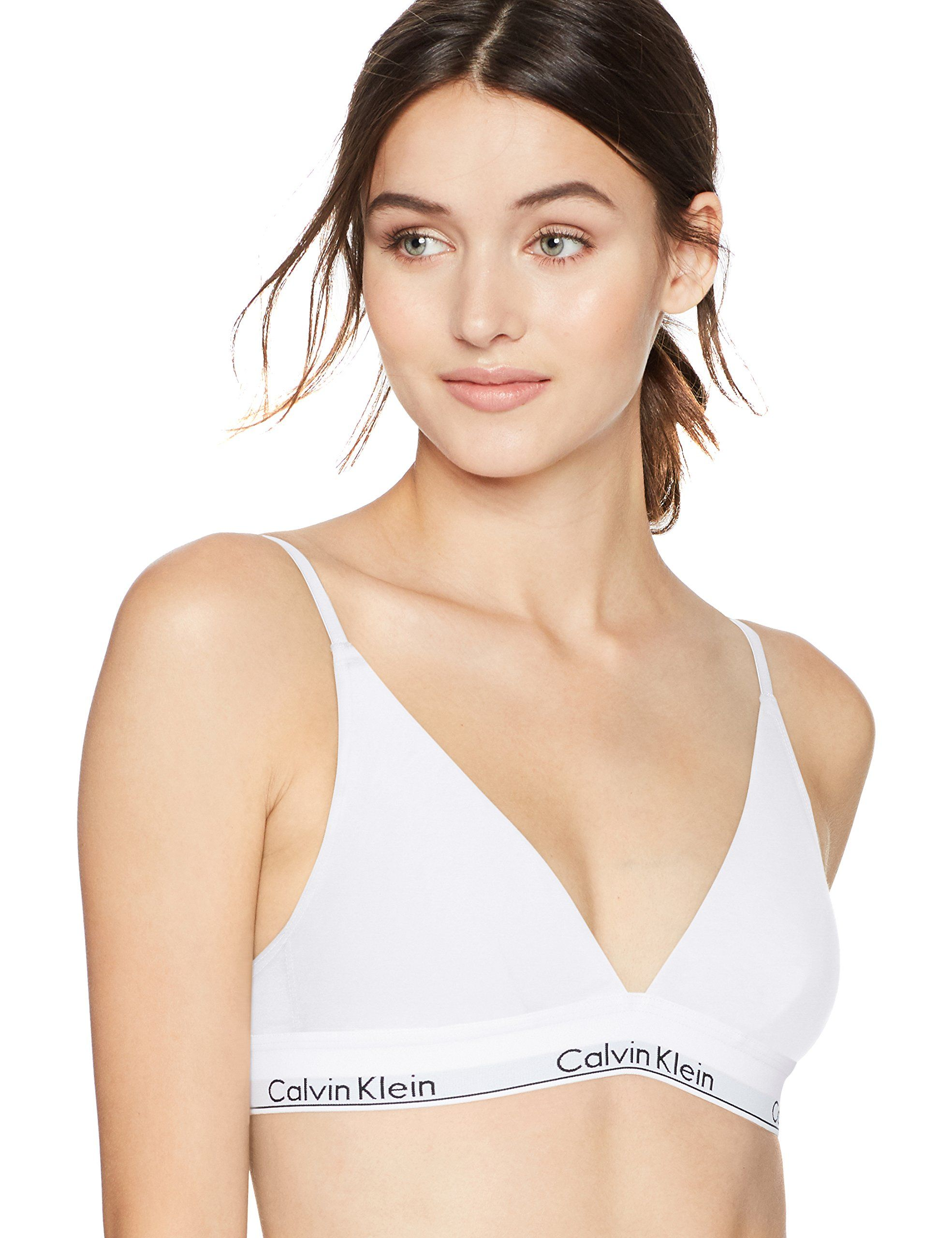 a274600005d Calvin Klein Womens Modern Cotton Triangle Bra White Small -- Click image  to review more details. (This is an affiliate link)  WhiteLingerie