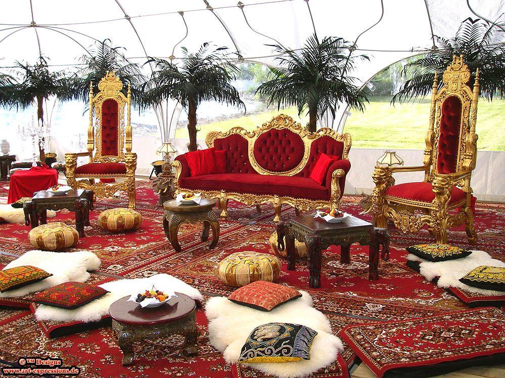 orientalische indische asiatische luxus dekoratio orientalische indische asiatische lounge. Black Bedroom Furniture Sets. Home Design Ideas