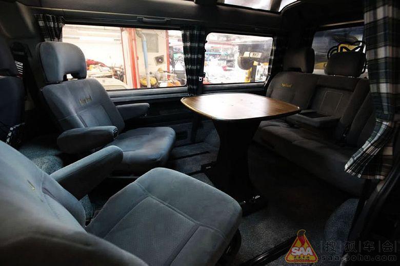 Camper Interior, Van