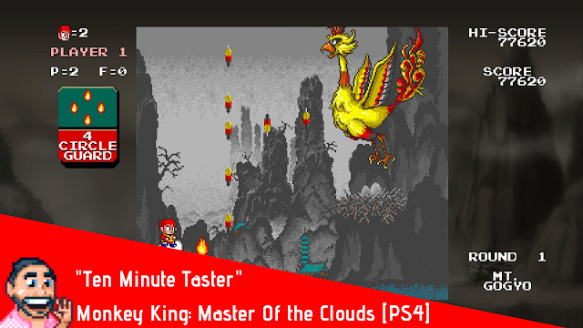 Ten Minute Taster Monkey King Master Of The Clouds [PS4