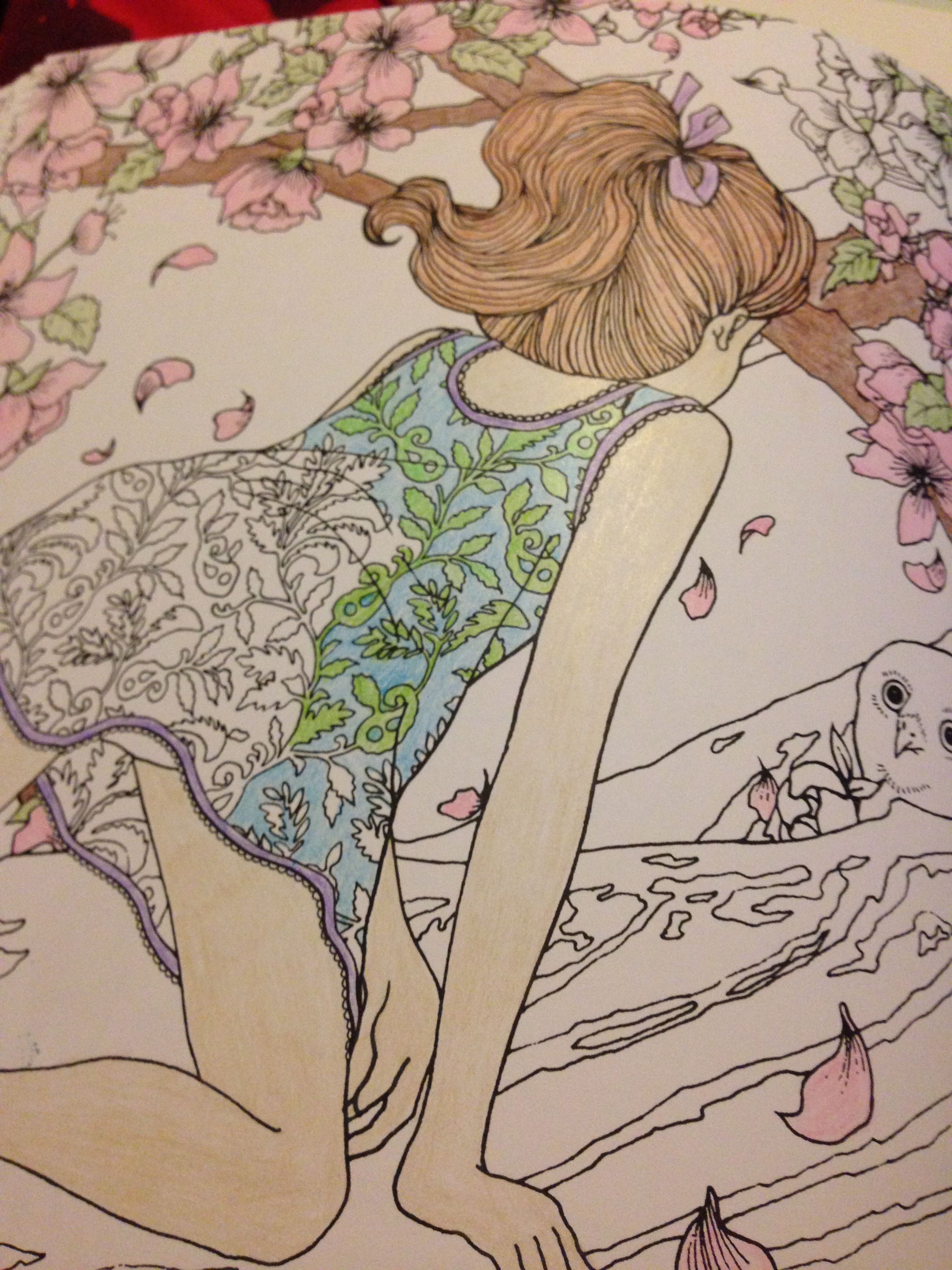 Product Review Time Garden Coloring Book By Daria Song