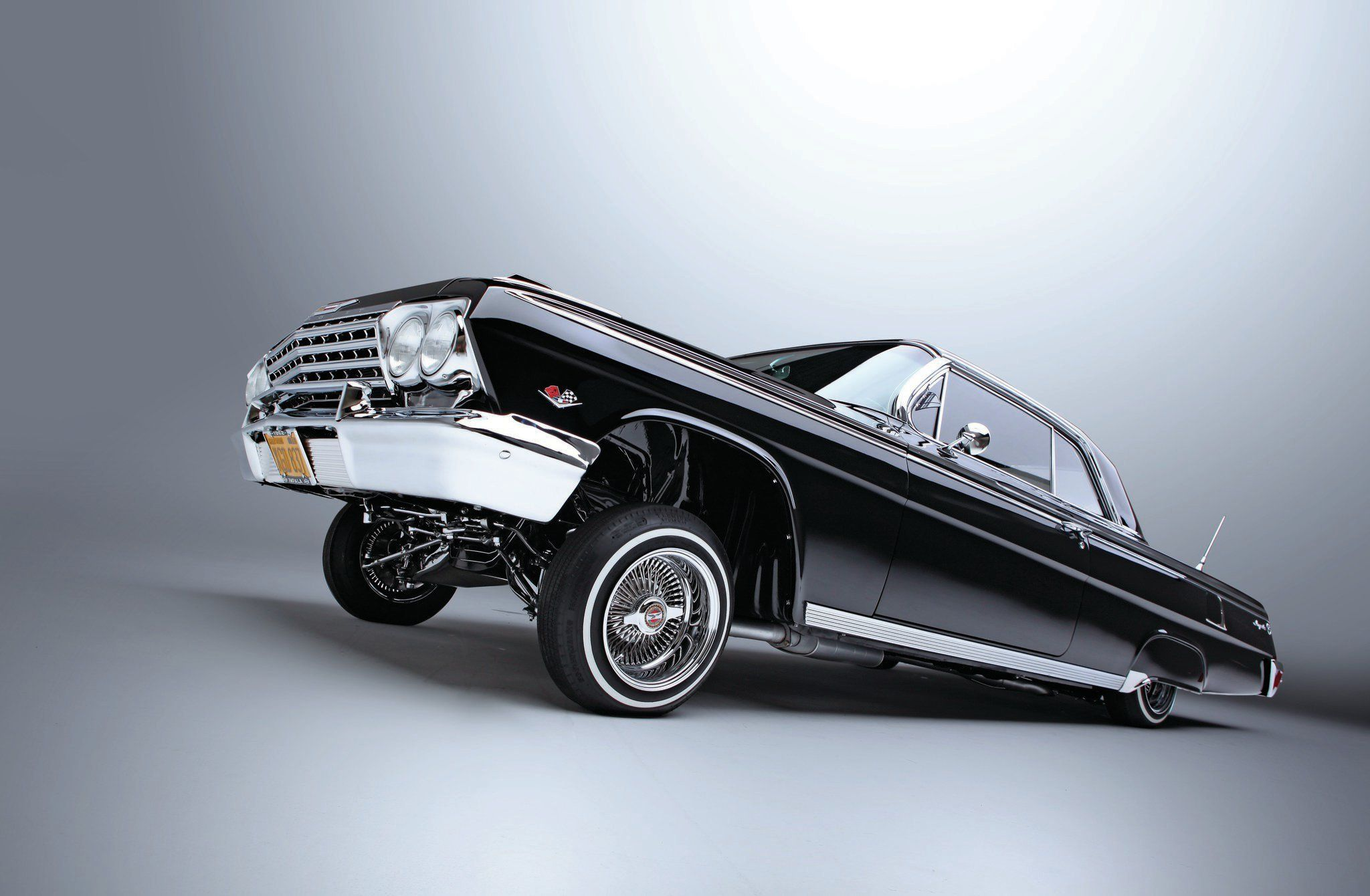 1962 Chevrolet Impala Dakota Digital Gauges 07 Photo 10