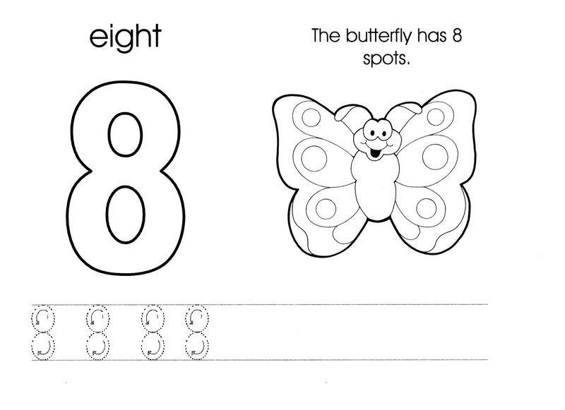 Number 8 Worksheet New Fun Kindergarten Worksheets Numbers Preschool Alphabet Worksheets Preschool