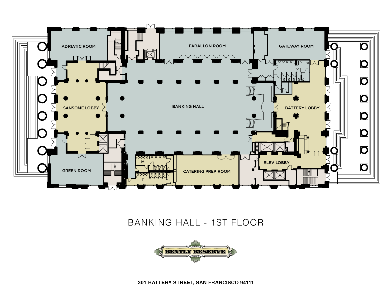 First floor the banking hall bank plan layout gym and spa area plans bibliotheksdesign home