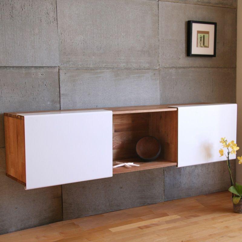 Mash Studios LAX 3X Wall Mounted Shelf Modern Bookcases Interior