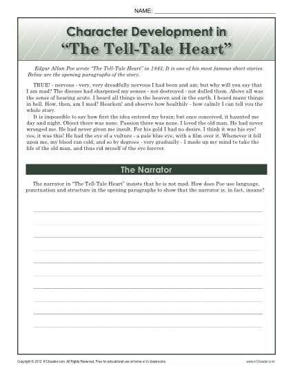 tell tale heart citation mla