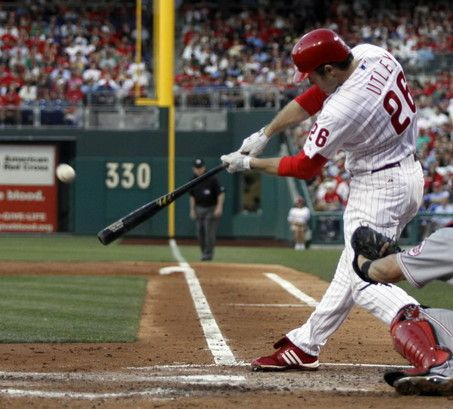 Newton S Third Law States That For Every Action There Is An Equal And Opposite Reaction This Baseball Player Swung Newtons Third Law Baseball Players Baseball