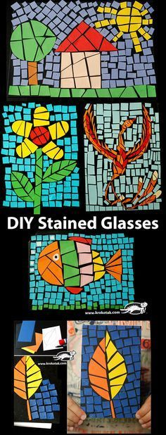 DIY Stained Glasses More