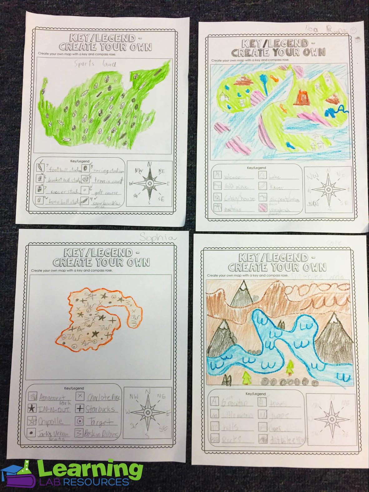 small resolution of Engaging Map Skills Activities   Map skills