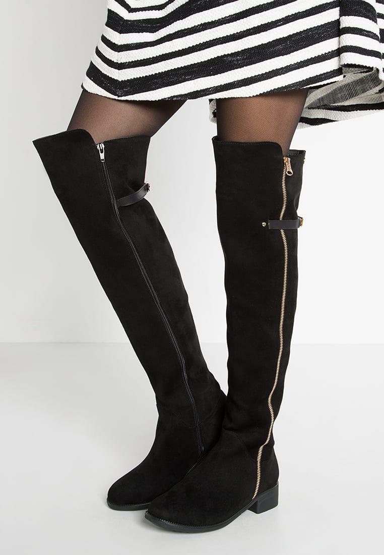 3b225f25101d7 XTI Muszkieterki - black - Zalando.pl | Kocham buty :) | Knee boots ...