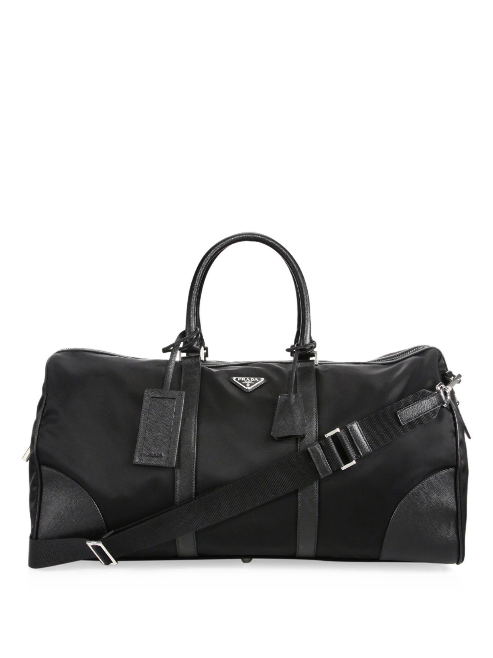 d5bae2ea35 Prada Nylon Duffel Bag
