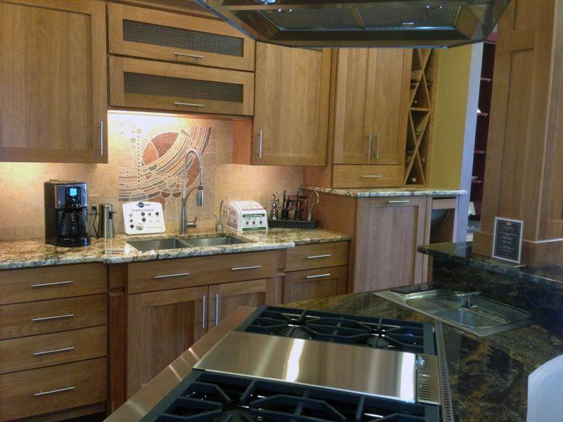 Modern styling in this JM Kitchen Cabinet Showroom Denver ...