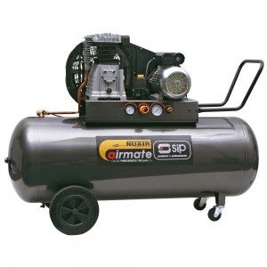 SIP Airmate PNB3800B3/150 ProTech oil lubricated belt drive air compressor