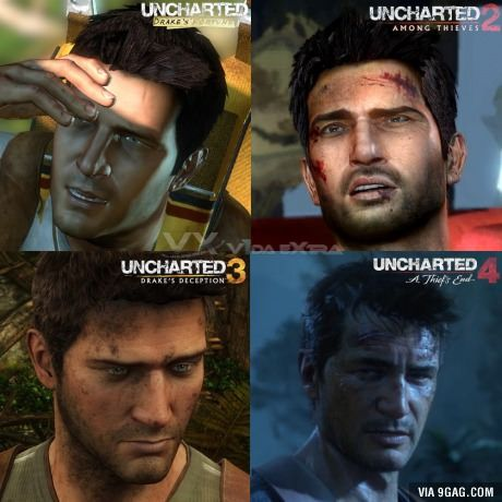 The Evolution Of Nathan Drake From Uncharted Uncharted Game