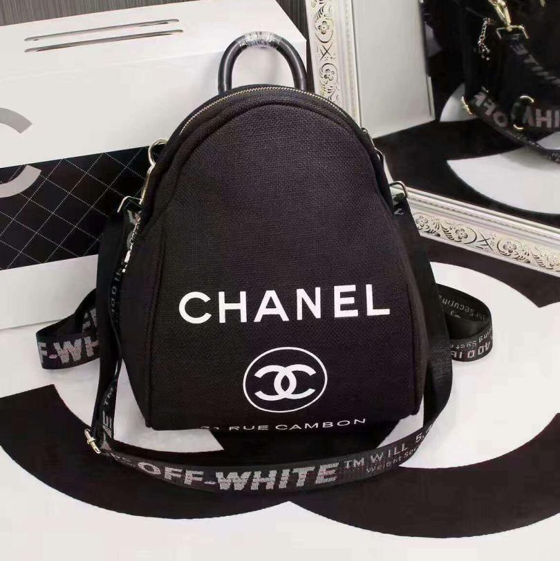Chanel Black Casual Shoulder Schoolbag Satchel Handbag Backpack H 3a Xnrssnb From Summer11 Saved To S Luxlane