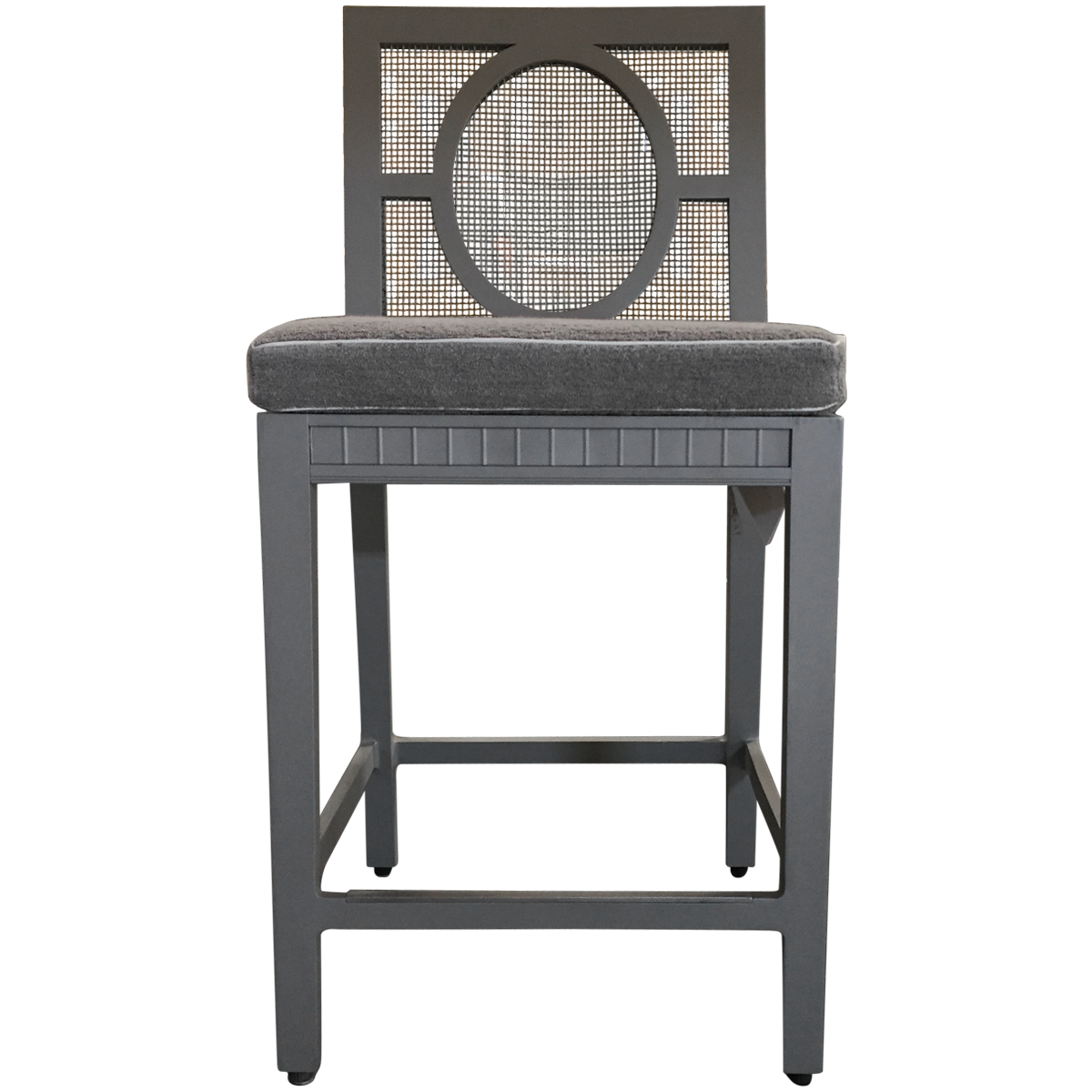Savannah powdercoated aluminum counter stool in style we