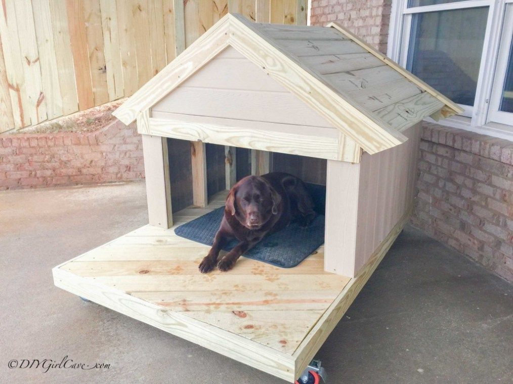 36 Free DIY Dog House Plans & Ideas for Your Furry Friend ...