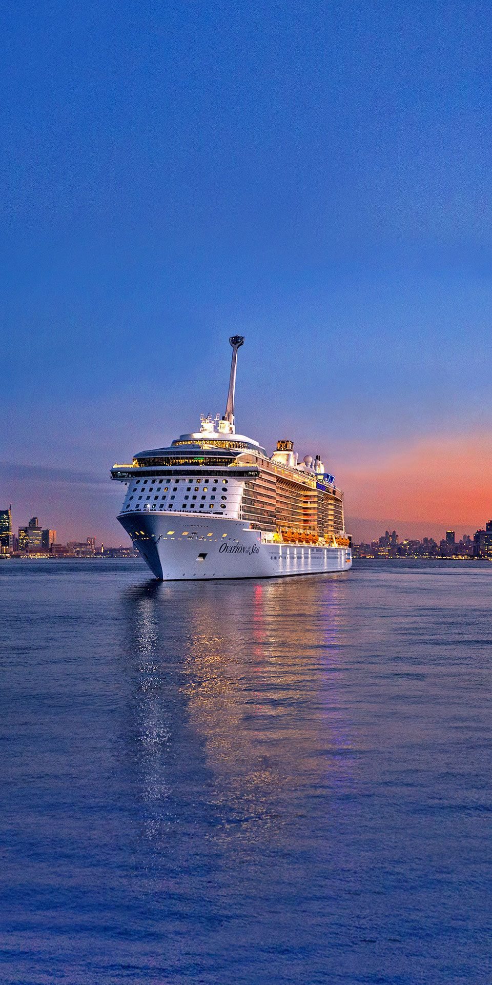 Ovation Of The Seas Leave It To Royal Caribbean To Raise The Bar On Adventure North Star Elevates Y Cruise Ship Royal Caribbean Ships Royal Caribbean Cruise