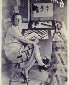 The artist and designer, Sonia Delaunay