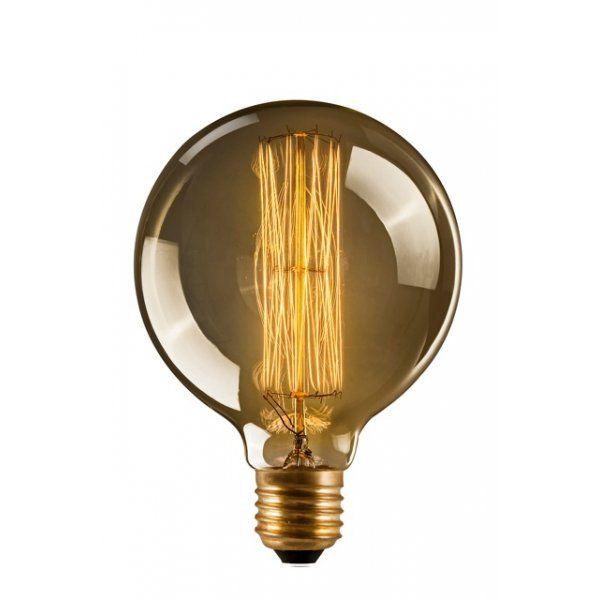 Edison Eichhörnchen Glatte Glühlampe