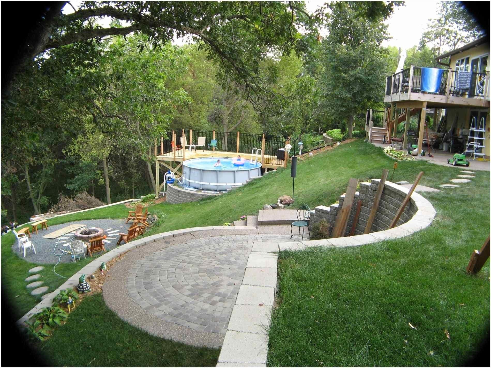 landscape ideas sloped yard
