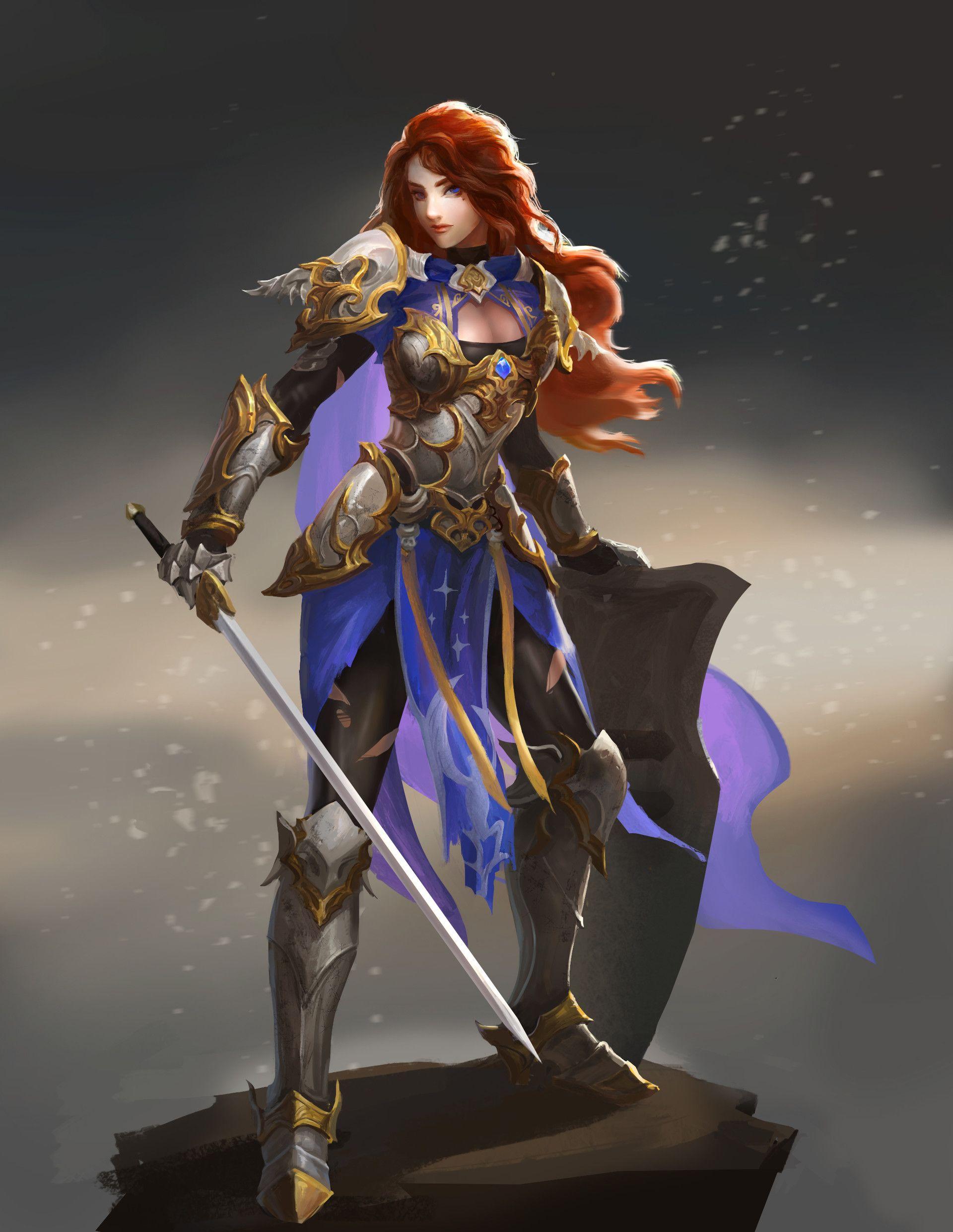 knight by B Beask on ArtStation.