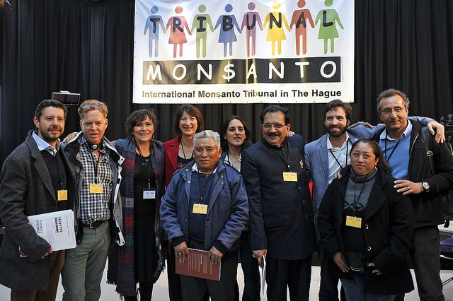 """Monsanto are finally being taken to task. And the International Monsanto Tribunal wanted to pass on this message, to say thanks for chipping in:  """"Your generosity made this possible. Thanks to all the SumOfUs members who donated to this initiative, we have been able to insure these witnesses could travel from all over the world to The Hague and their precious testimonies be heard by the judges and become part of the procedure."""""""
