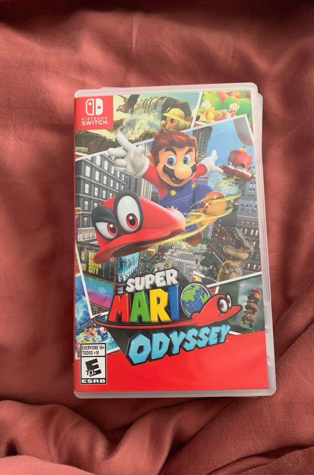 Case For Mario Odyssey Only Game Not Sold Case Mario Odyssey