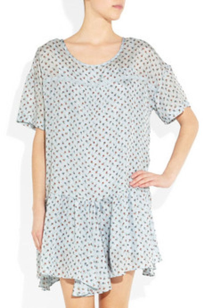 Is it me, or does this resemble a hospital gown?