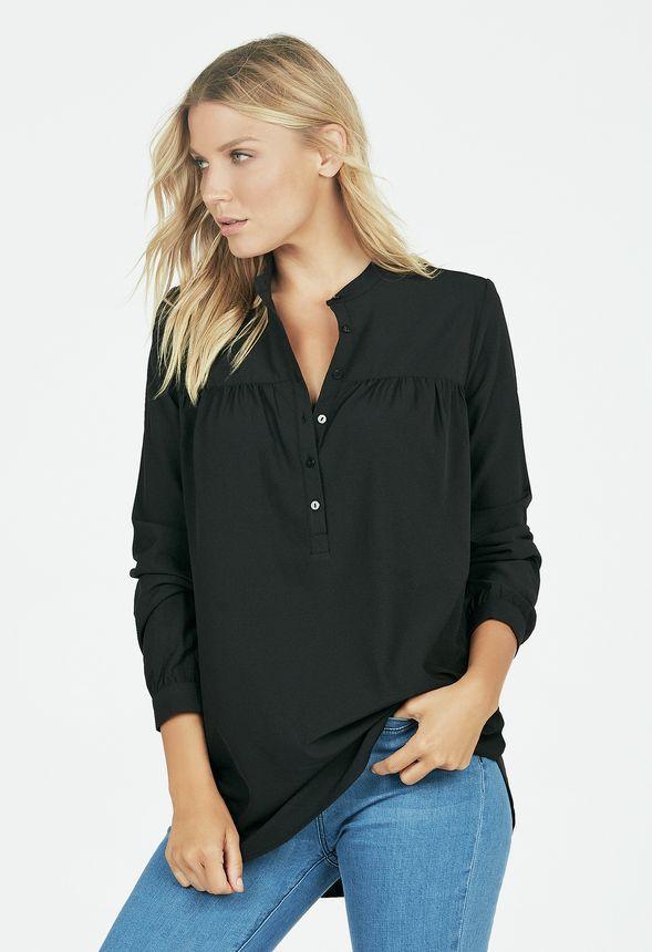 Shift Tunic Kleidung in Schwarz - günstig kaufen bei JustFab