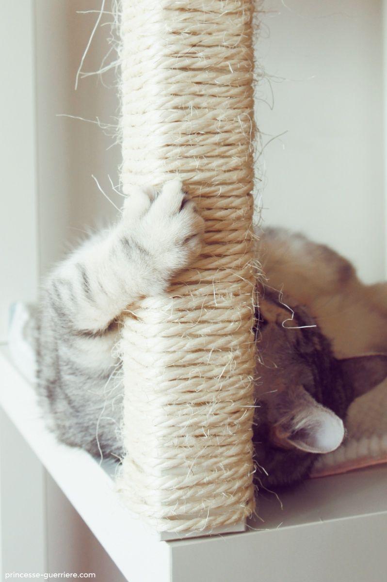 un arbre chat ikea diy decoraci n. Black Bedroom Furniture Sets. Home Design Ideas