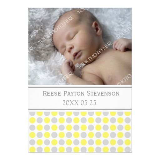 make your own birth announcements template