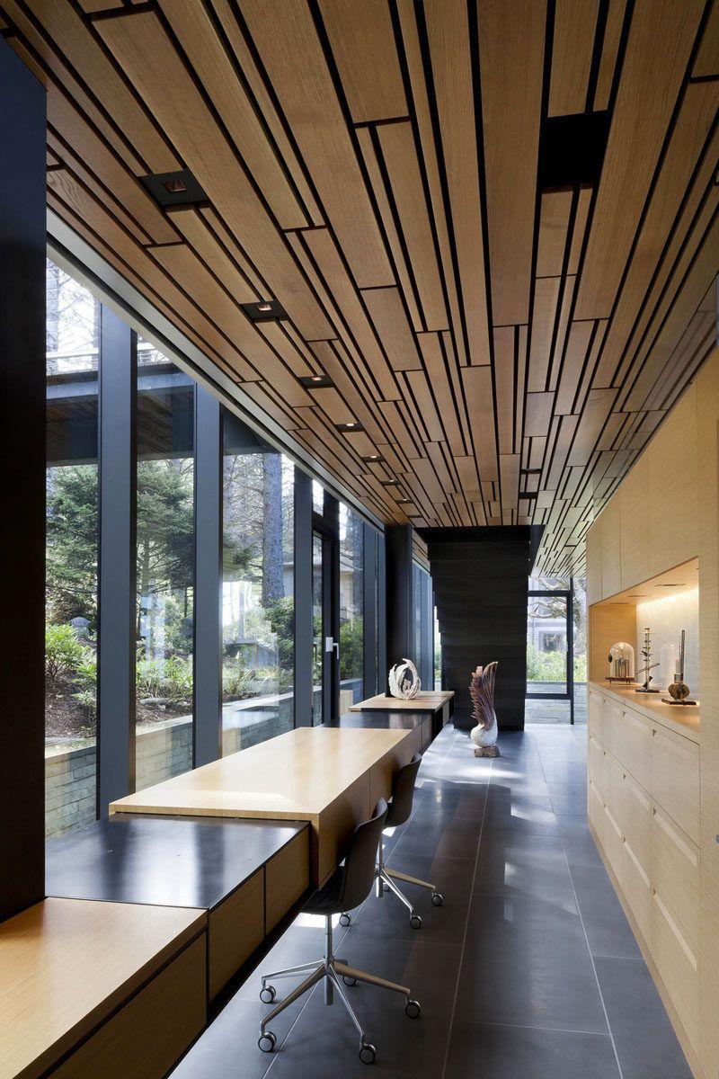 Home interior ceiling design interior design idea   examples of desks in hallways  natural