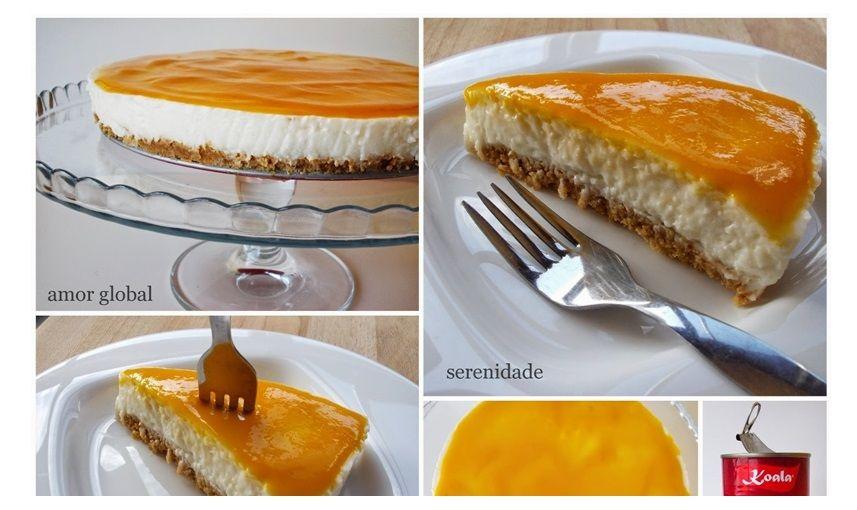 Pudim De Leite De Coco (Escondido Num Semi-frio E Com Requinte De Cheese-Cake) - http://www.sobremesasdeportugal.pt/pudim-de-leite-de-coco-escondido-num-semi-frio-e-com-requinte-de-cheese-cake/