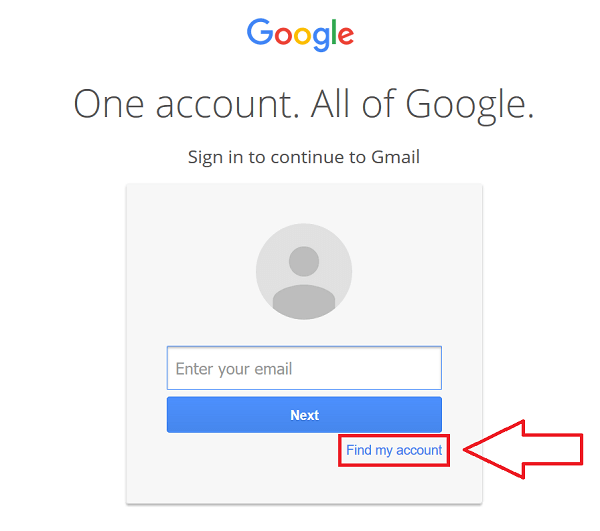 Here Are The Google Account Recovery Steps Visit The Google