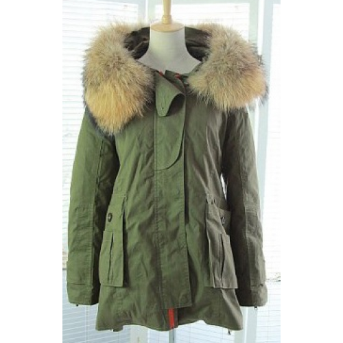 Parka Jacket with Natural Fur Hood | Outerwear | Pinterest