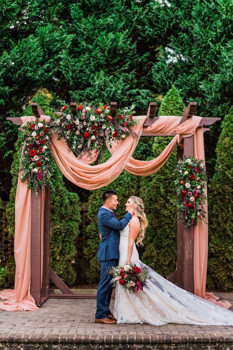 26++ Wooden wedding arch ideas information