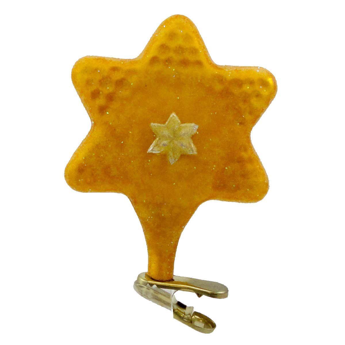 Dalia's Star Lg Glass Ornament