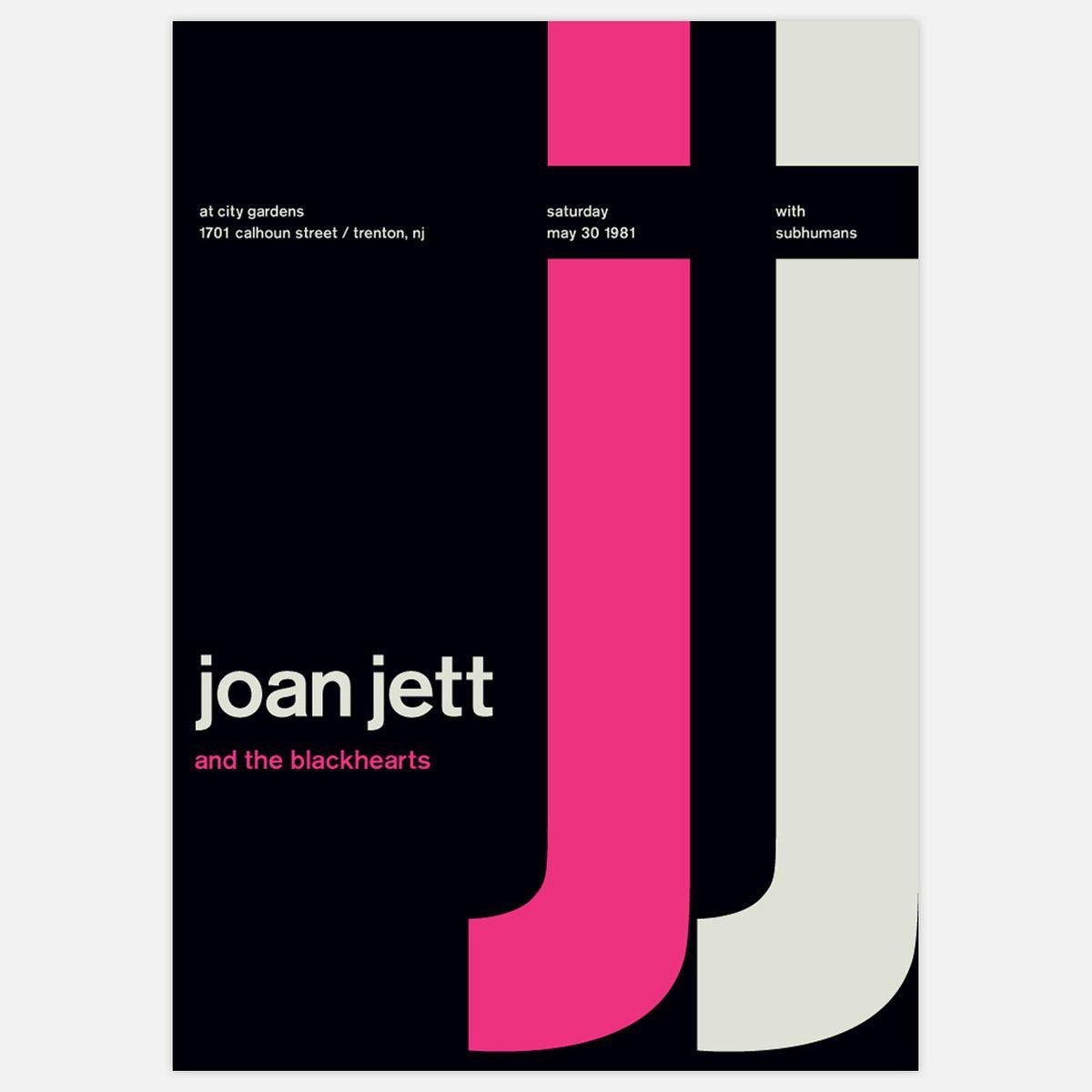 Fab.com | Joan Jett, 1981