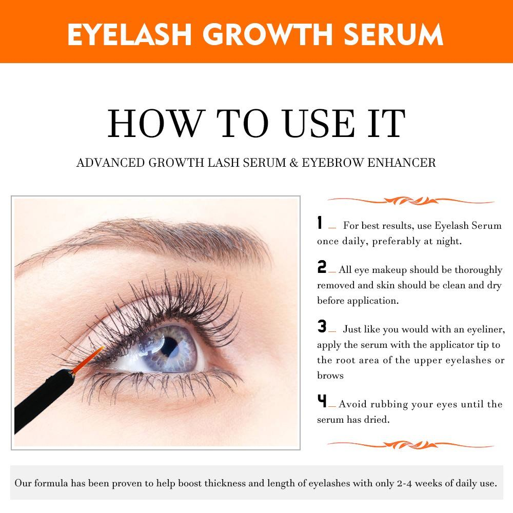 be333cbbba4 Natural Eyelash Growth Serum by MELAO Natural Clear Night Treatment Serum  for Eye Lash #EyeLashEnhancersPrimers
