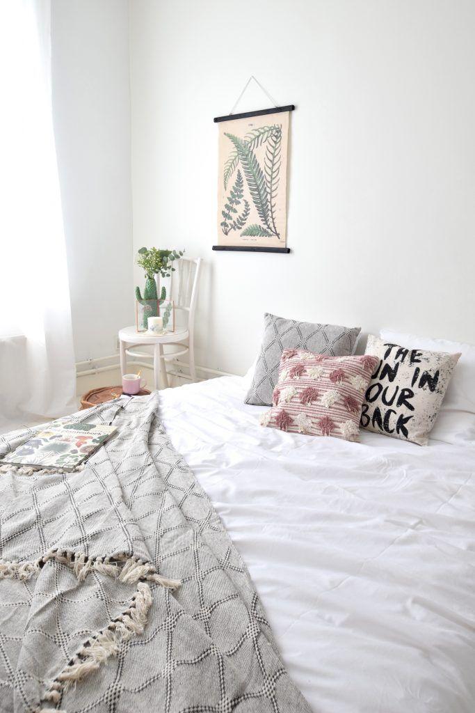 Mini slaapkamer make-over // #SayYesToChange met Juttu // nu te ...