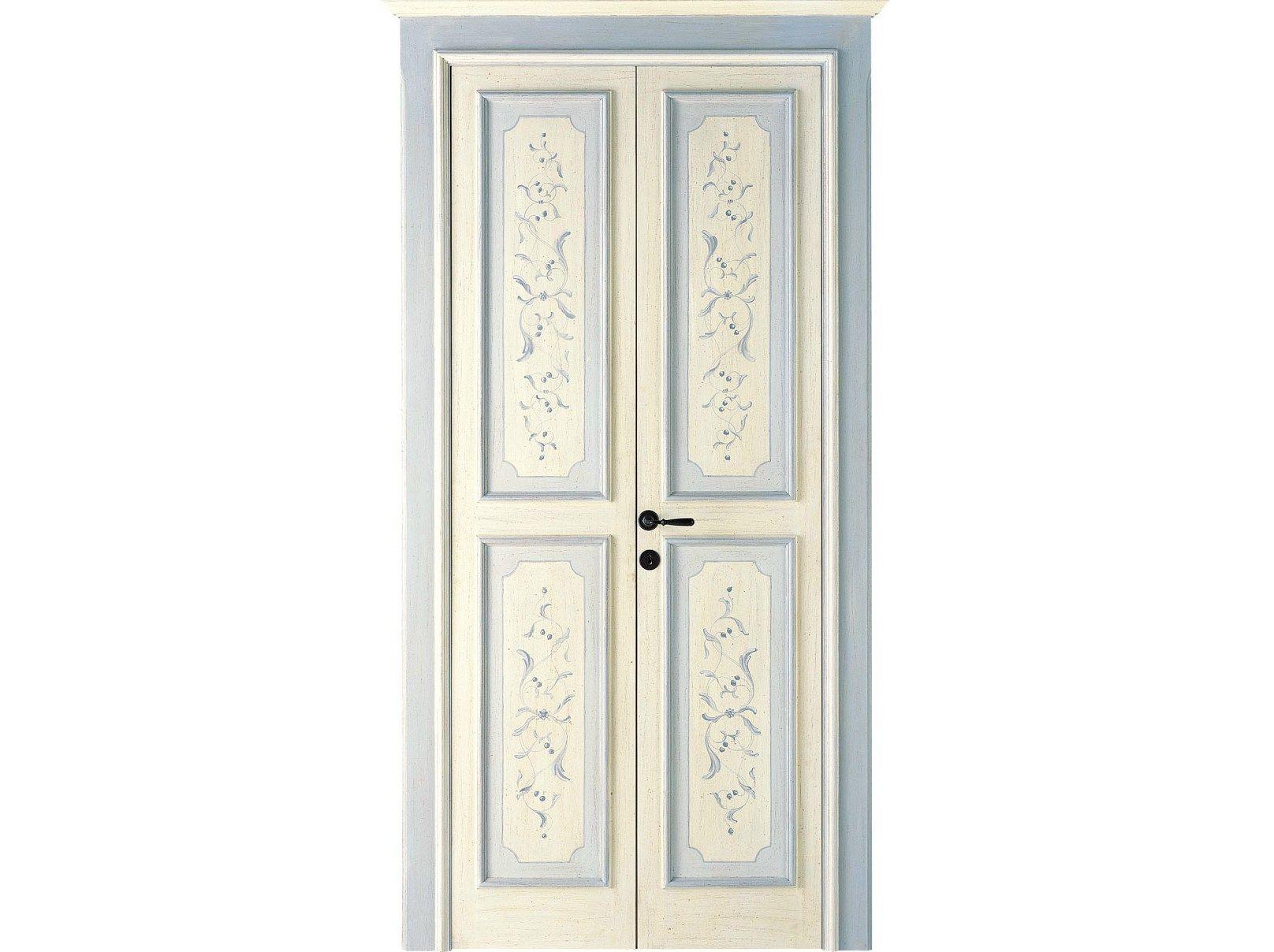Wooden door LUNAMARE - ANTICHE PORTE - DI.BI. PORTE BLINDATE ...