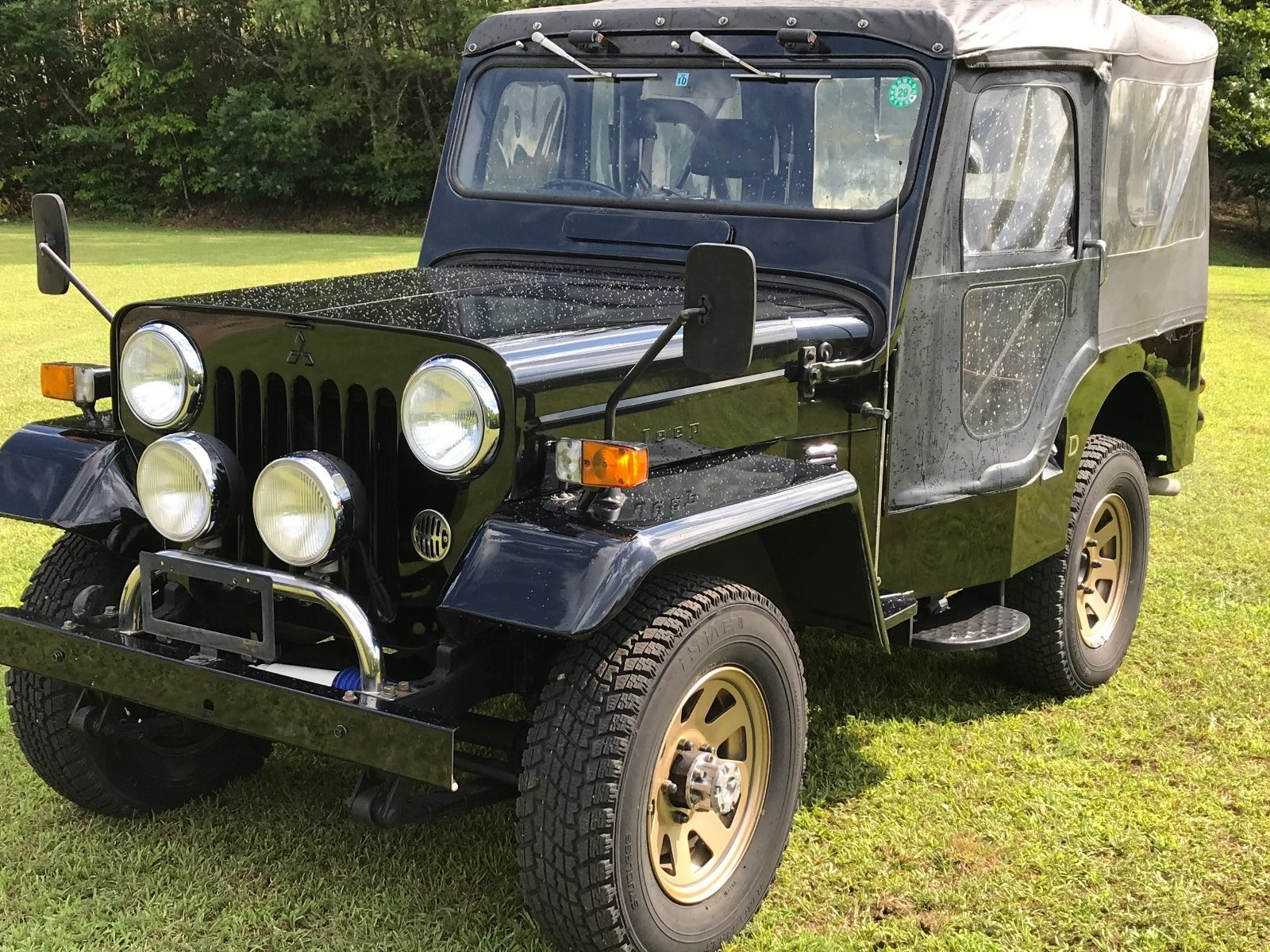 eBay 1991 Jeep Other 1991 Mitsubishi jeep Willis j53 JDM RHD turbo