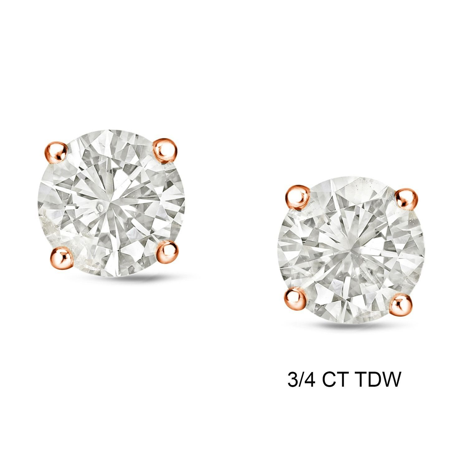 Diamond earring stud with halo I want a pair