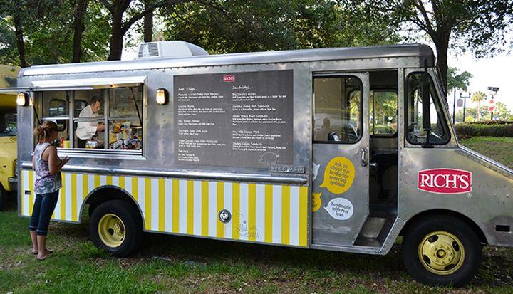 Menu Solutions - Street Food | Rich's Canada | Olivia's Street Fair