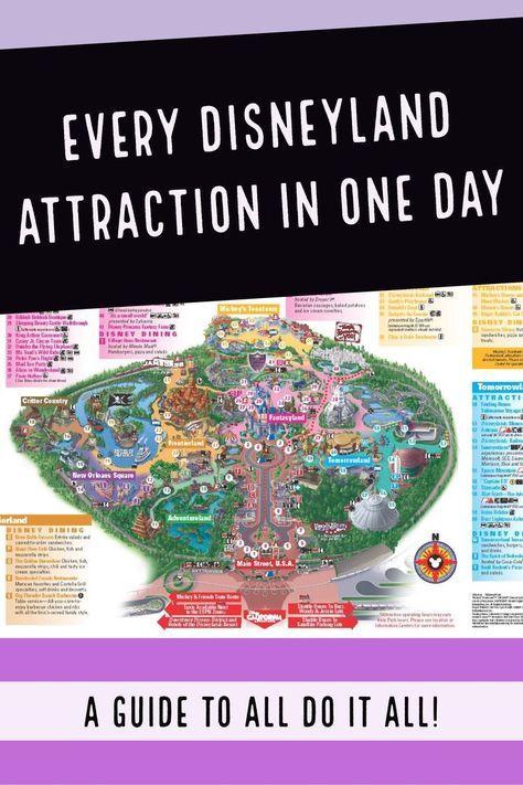 Photo of Alle 61 Disneyland-Attraktionen an einem Tag!