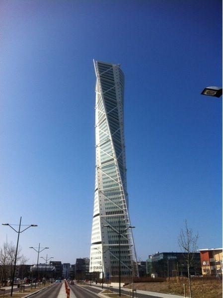 Twisted Torso Building. Malmo, Sweden