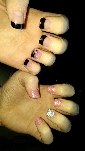 Acrylic nails. #love #nails #acrylic