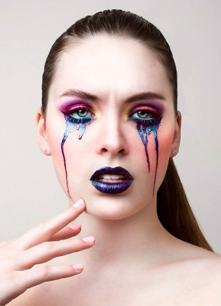 Makeup Photography: Tears Reference
